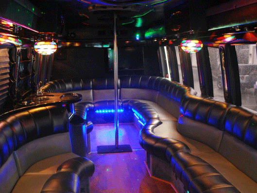 limo bus rental service